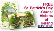 free vintage St. Patrick's Day Ireland old postcards