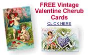 free vintage Valentine cherubs