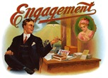 Engagement-vintage-cigar-label