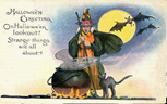 Halloween-witch-black-cat-cauldron-postcard