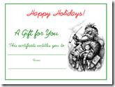 Holiday-vintage-Santa-gift-certificate