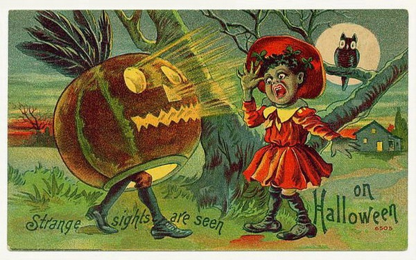 Free Vintage Halloween Cards: Cute Kids