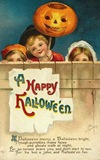 vintage-three-kids-Halloween-pumpkin-card