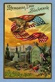 vintage-eagle-American-flag-grave