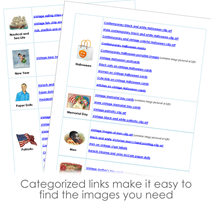 free clip art sourcebook sample pages