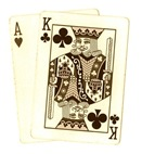 playing-cards-ace-king-sepia-tone-poker-clip-art