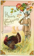 Thanksgiving-hunter-turkey-vintage-card