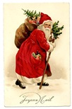 victorian-santa-fruit-toys-sack-pine-tree-Christmas-cards