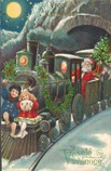 vintage-Santa-children-train-holiday-card