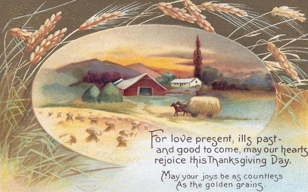 Free Vintage Thanksgiving Greeting Cards