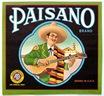 vintage labels fruit crates Paisano