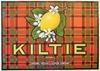 vintage stickers Kiltie brand Corona Foothill Lemon Company