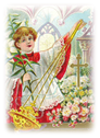 free vintage alter boy clip art for Easter