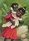 free vintage clip art African American children