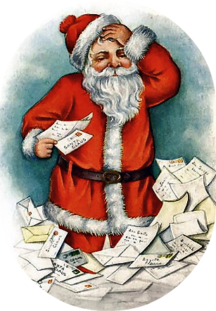 Free Vintage Santa Clip Art - Vintage Holiday Crafts