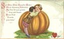 free vintage valentines card peter peter pumpkin eater couple