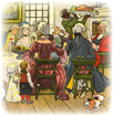 Victorian-vintage-Thanksgiving-clipart