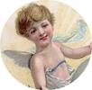vintage cherub angel clip art