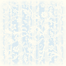 Floral white and blue striped vintage scrapbook paper