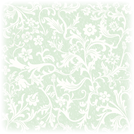 Floral white and green vintage