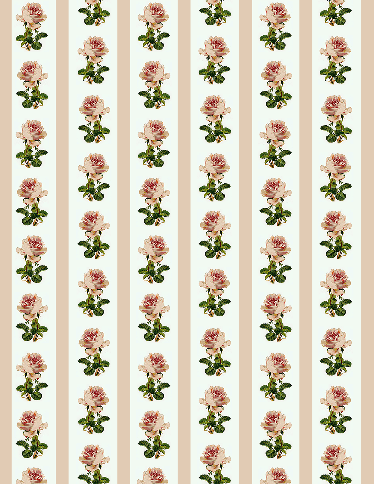 Scrap paper flowers image collections flower decoration ideas free clip art from vintage holiday crafts birthday vintage flowers scrapbook paper pink roses and stripes mightylinksfo