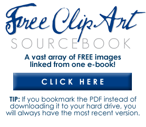 Free Clip Art Sourcebook - Vintage Holiday Crafts